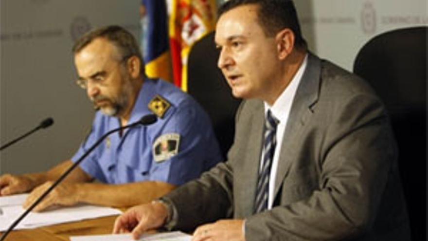 El edil de Seguridad y Movilidad Ciudadana, Jesús González Dumpiérrez.