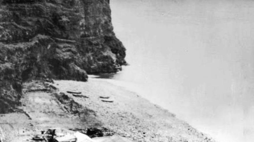 La Rajita en 1934   (Imagen Toribio Arteaga González de Amigos de la Rajita)