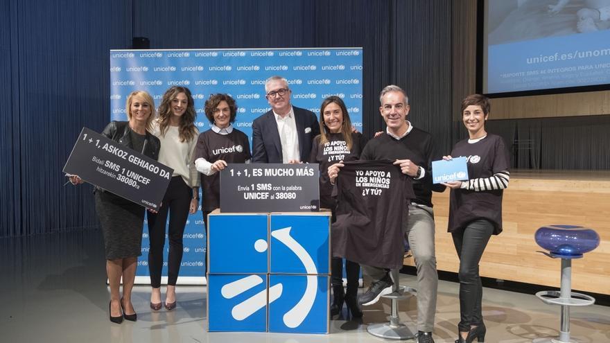 EiTB se suma a la campaña de UNICEF para apoyar a niños que viven en situaciones de emergencia por guerras o desastres
