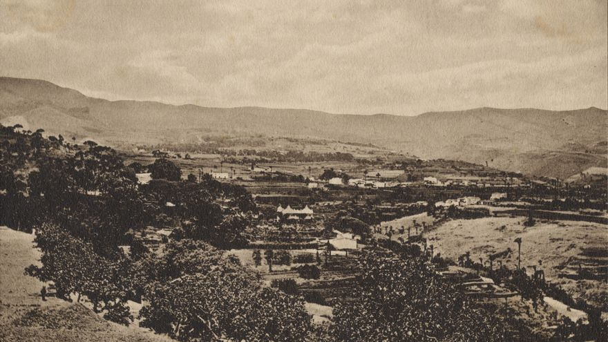 El Monte de Gran Canaria. Imagen: Medrington, Charles E. Fedac
