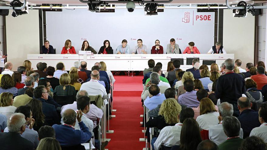 Tres dirigentes cántabros han participado este domingo en el Comité Federal del PSOE.