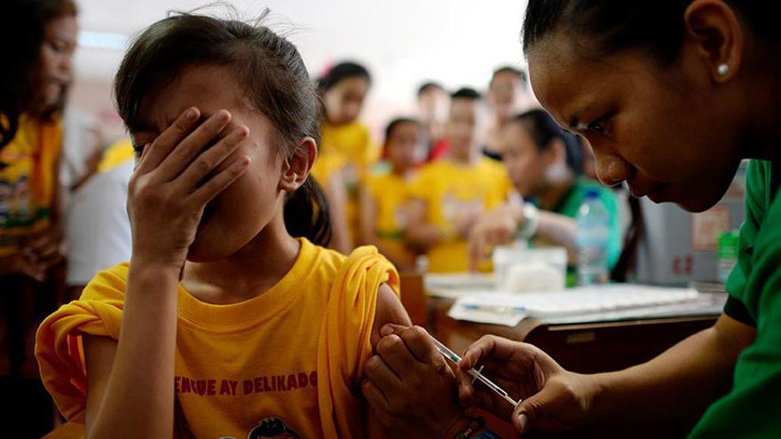 Filipinas ha suspendido la campaña de vacunación tras los fallos de la vacuna