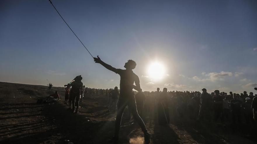 Muere un palestino herido ayer por un disparo israelí en las protestas de Gaza