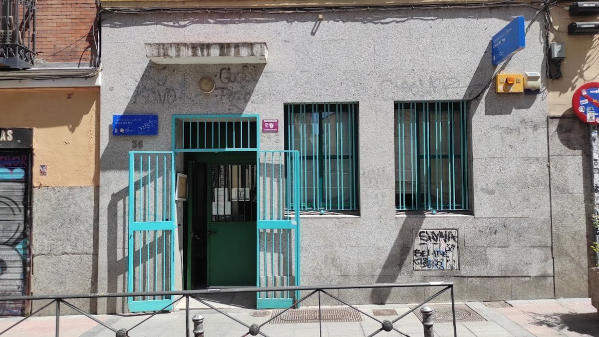 Actual ubicación del Centro Cultural Clara del Rey, en la calle Palma