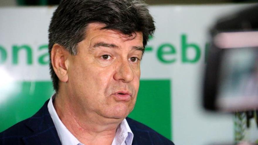 En la imagen, el presidente del Partido Liberal de Paraguay, Efraín Alegre.