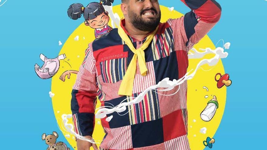 El humorista Kike Pérez.