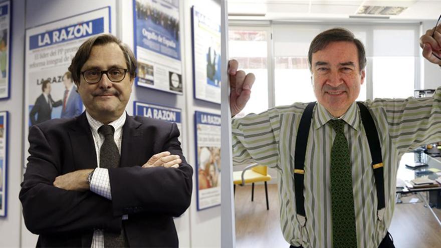 Francisco Marhuenda y Pedro J. Ramírez