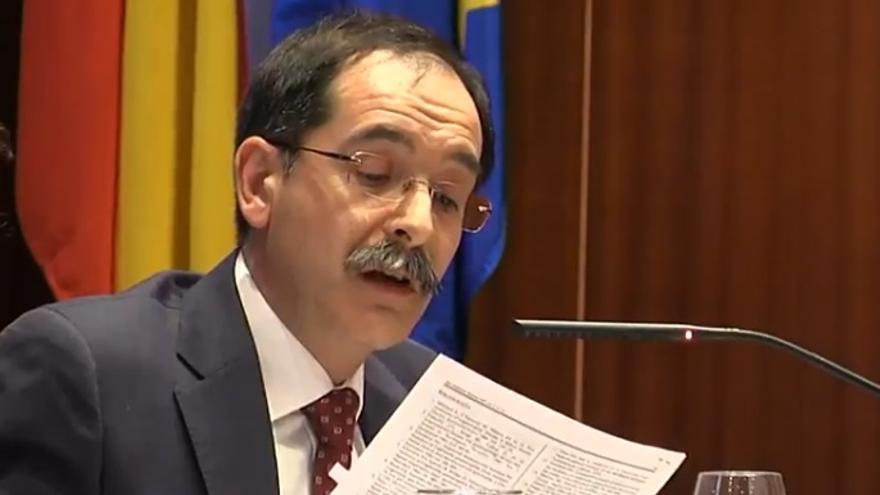 El portavoz del Grupo Popular, Manuel Martín Gaitero