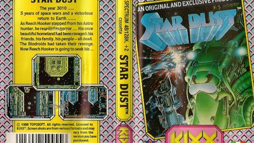 El videojuego Star Dust fue desarrollado por los hermanos Arévalo y distribuido por Erbe