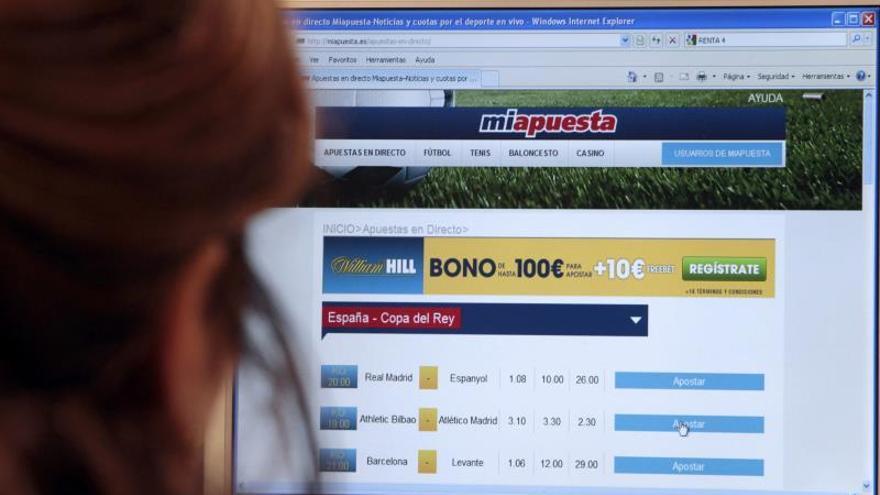 Coto a las apuestas deportivas y al juego en línea