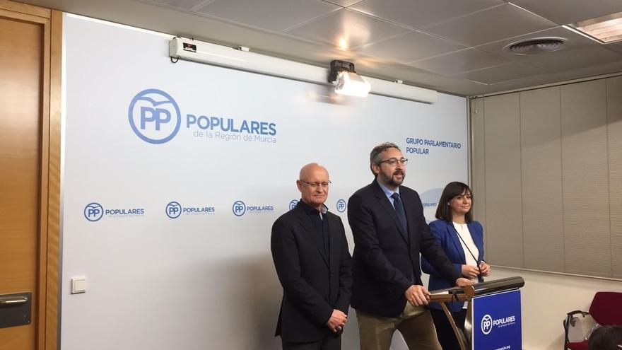 """PP de Murcia acusa a Cs de estar """"comprando"""" la práctica política del PSOE """"para que no se sepa la verdad"""""""