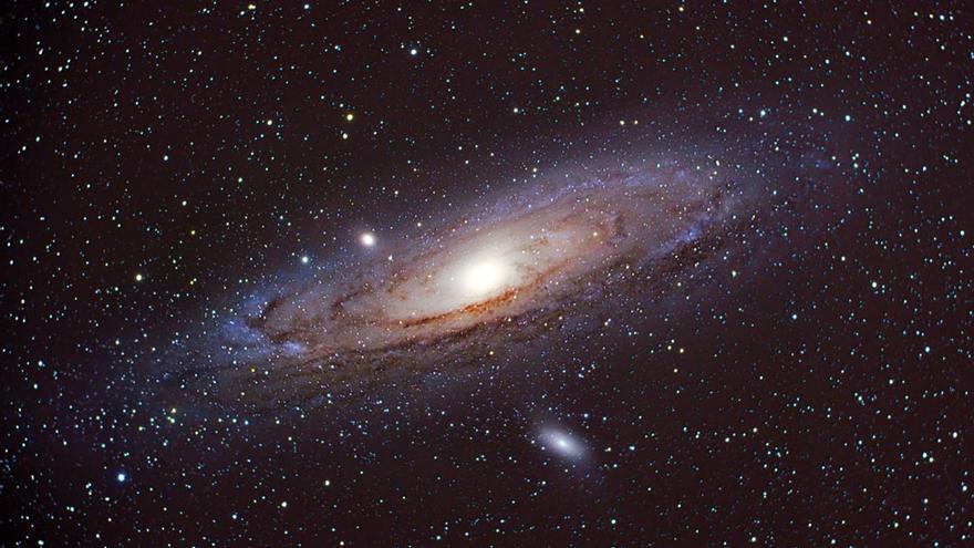 Galaxia Andrómeda / Daniel López, IAC