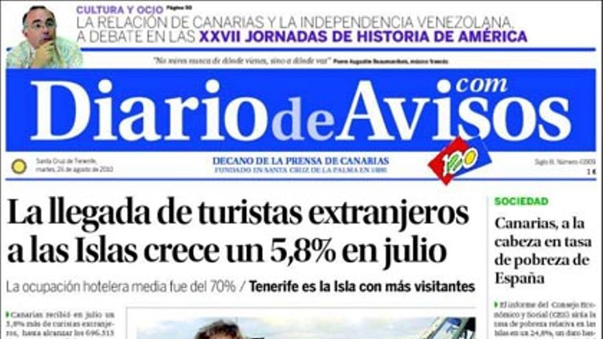 De las portadas del día (24/08/2010) #3