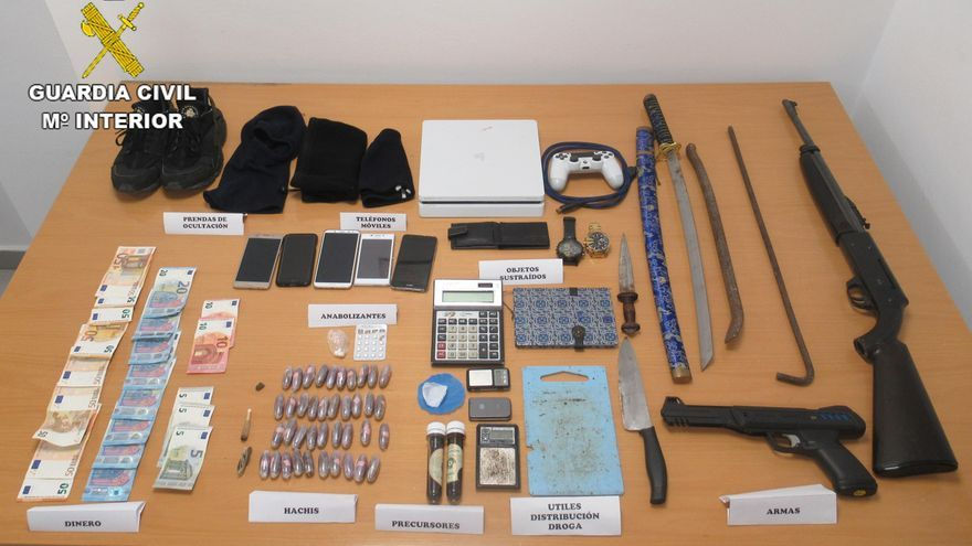 Detienen a seis personas por robos con violencia en Arucas