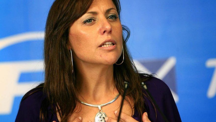 La portavoz del PP de Santa Cruz de Tenerife, Cristina Tavío.