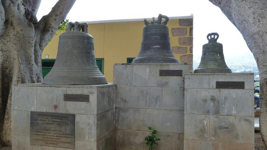 Campanas viejas de Santa Brígida 1762. (Cedida a Canarias Ahora).