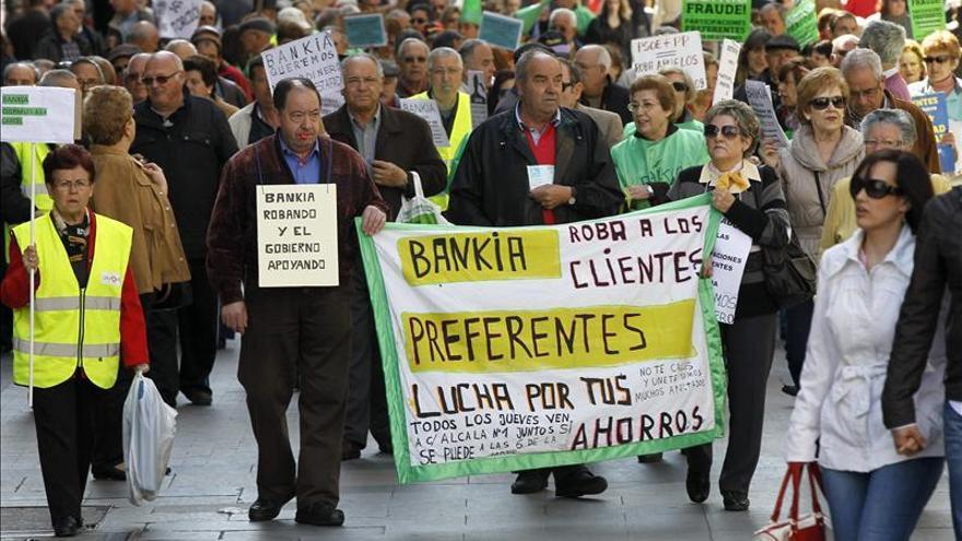 Casi 3.000 clientes de Bankia han recuperado ya su inversión en preferentes