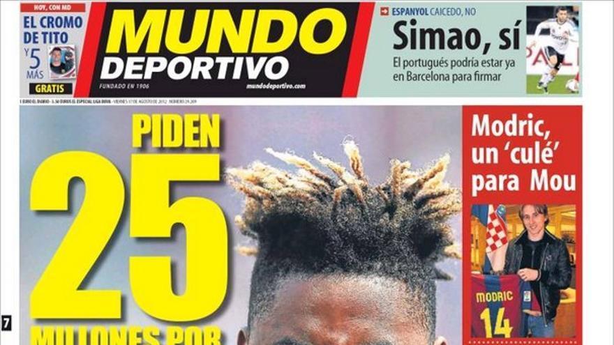 Las portadas del día (17/08/2012) #14