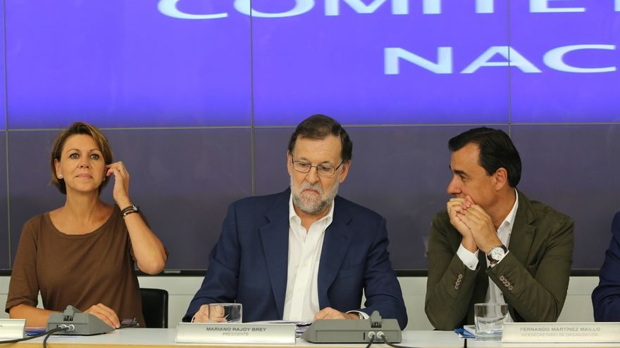 El PP advierte que Rajoy seguirá siendo su candidato y responde a Felipe González que dirija sus mensajes al PSOE