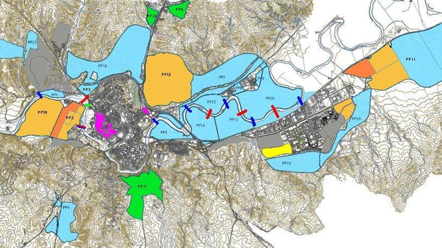 Mapa del POM de Toledo / Foto: toletho.com