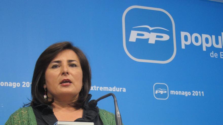 """El PP pide a Monago que defienda los """"intereses"""" de los extremeños frente al déficit, y no los """"chantajes nacionalistas"""""""