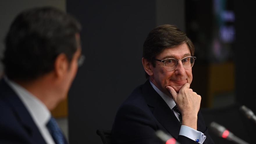 El presidente de Bankia, José Ignacio Goirigolzarri, en la cumbre de CEOE 'Empresas españolas liderando el futuro'.