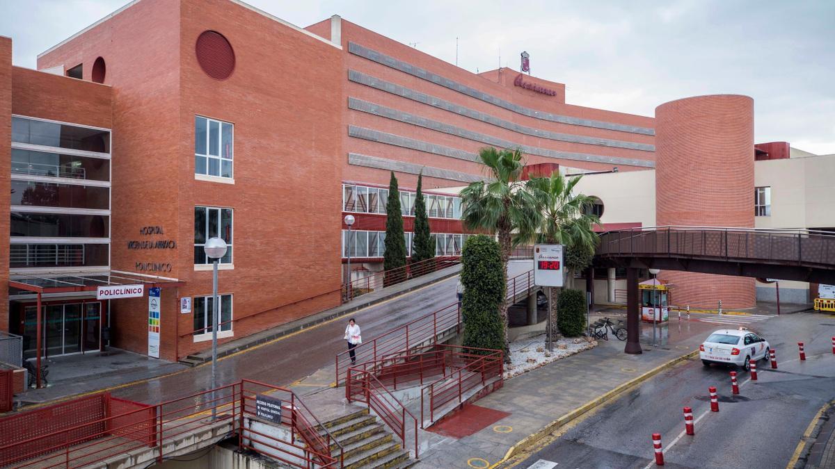 Vista del Hospital Virgen de la Arrixaca de Murcia. EFE/Marcial Guillén/Archivo