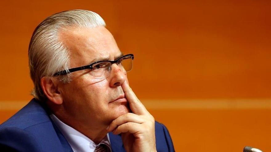 """Baltalsar Garzón: """"El problema es que el franquismo está sin resolver"""""""