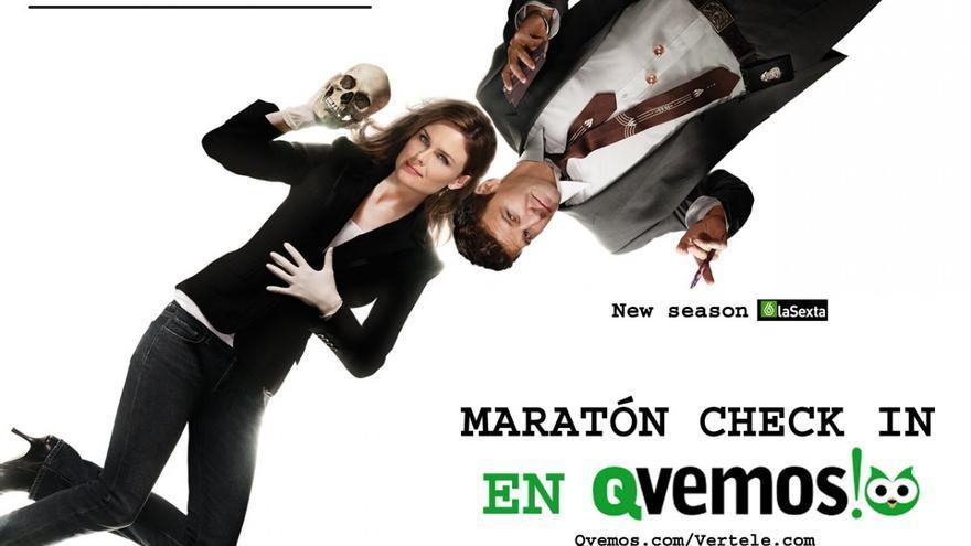 """Estrenamos 'Maratón Visto!' de """"Bones"""" en Qvemos, con premio"""