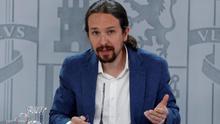 """Pablo Iglesias: """"Es bastante evidente que se ha atacado a Podemos para evitar que entremos en el Gobierno"""""""