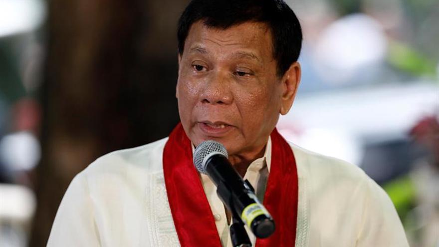 """El presidente filipino llama """"hijo de puta"""" al líder de Corea del Norte"""