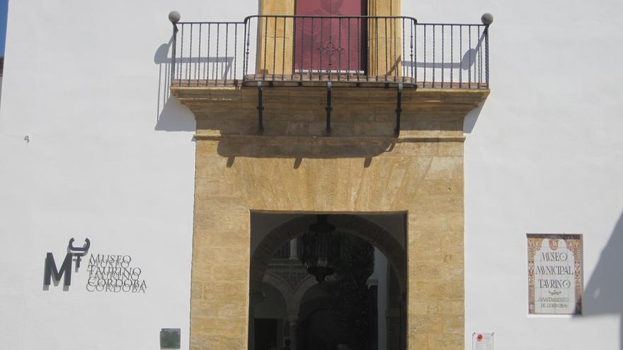 Fachada del Museo Taurino de Córdoba.