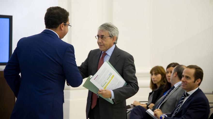 Clemente Checa, consejero de Hacienda y Administración Pública