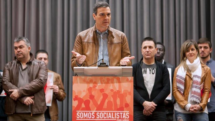 Sánchez recauda en un día 31.000 euros, lo que aspiraba a conseguir en un mes