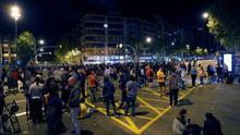 """90 noches cortando la calle en defensa de los presos independentistas: """"No nos iremos hasta que salgan"""""""