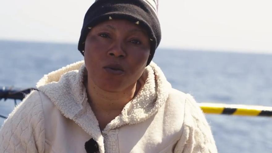 Evans, una de las rescatadas por Sea Eye.