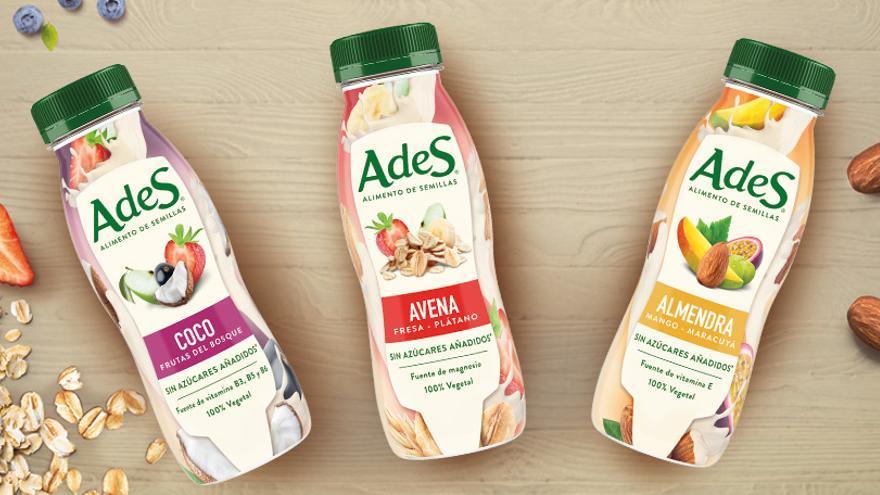 Imagen publicitaria de AdeS, la bebida vegetal de Coca-Cola