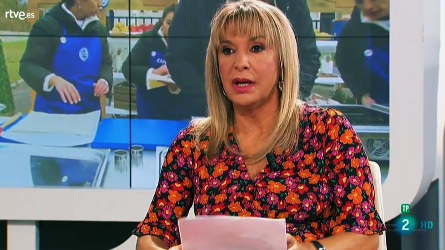 Toñi Prieto en 'RTVE responde'