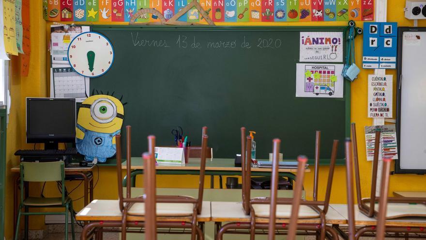 Sanidad activa el protocolo anticovid en un colegio de El Hierro y confina al alumnado de un aula