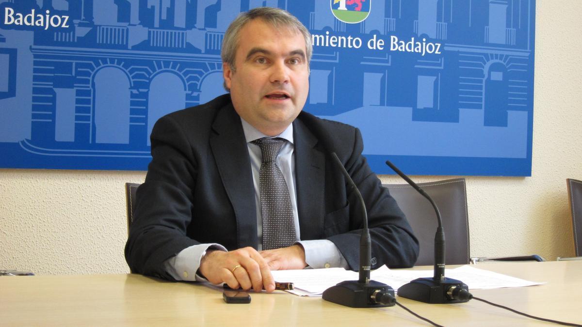 Francisco Javier Fragoso, presidente provincial del PP en Badajoz