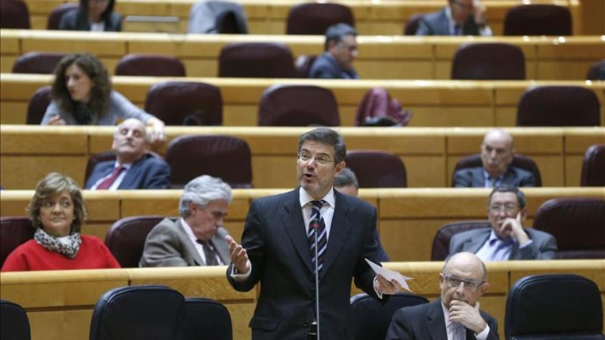 Catalá pide a los secretarios judiciales propuestas sobre sus reformas