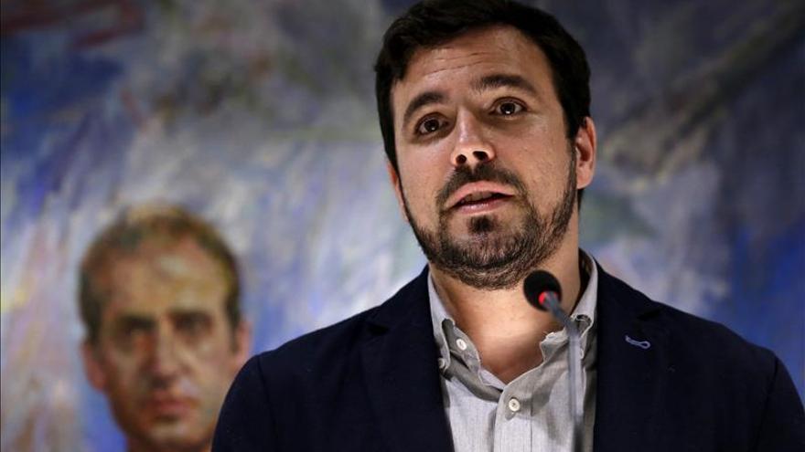 """Alberto Garzón dice que abandera la izquierda """"incómoda"""" para el PP"""