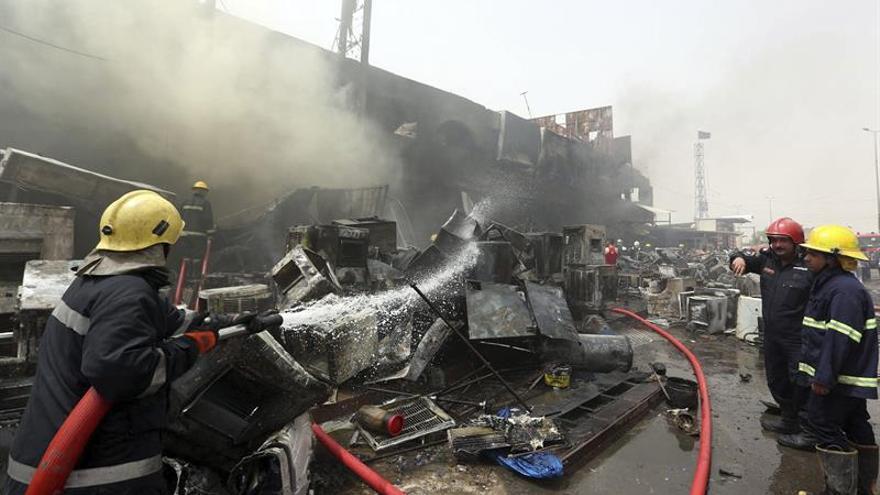 Al menos 20 muertos y 45 heridos por dos explosiones en Bagdad