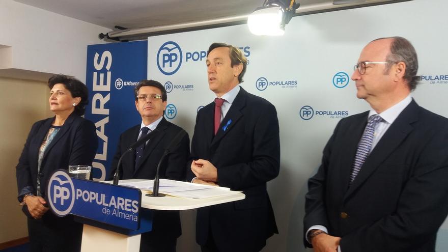"""Hernando (PP) apela a la """"responsabilidad"""" para respaldar los PGE ya que situación con CC y PNV es """"esperanzadora"""""""