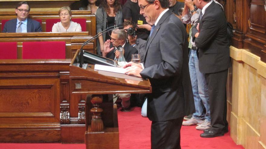 Artur Mas convoca elecciones para el 25 de noviembre