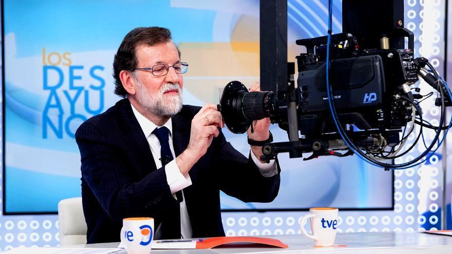 """Mariano Rajoy en """"Los Desayunos de TVE"""""""
