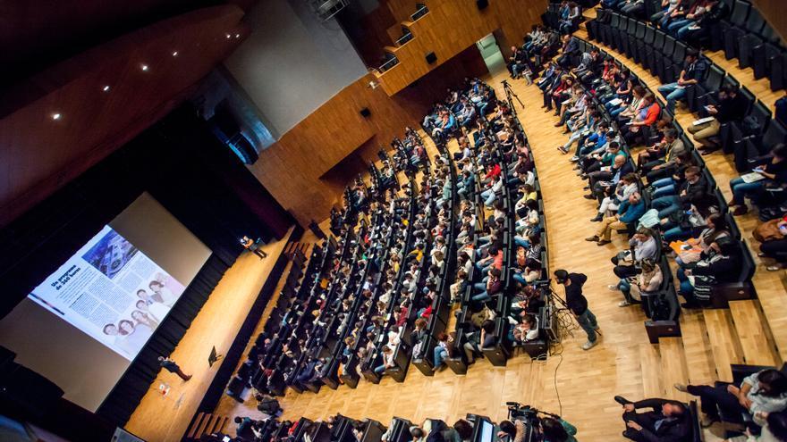 El SIE se celebra en el Palacio de Congresos de Huesca.