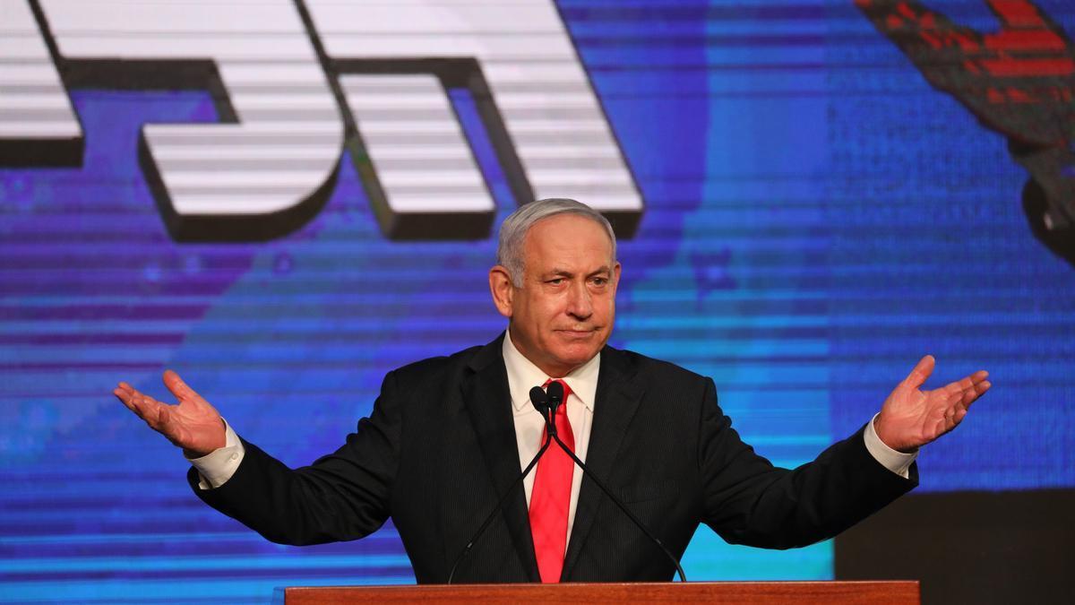 El primer ministro israelí, Benjamín Netanyahu. EFE/EPA/ABIR SULTAN/Archivo