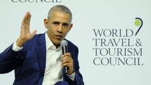 """Las 11 frases claves de Obama en Sevilla: """"Nos metemos en política por lo mismo que nos casamos: por compromiso"""""""