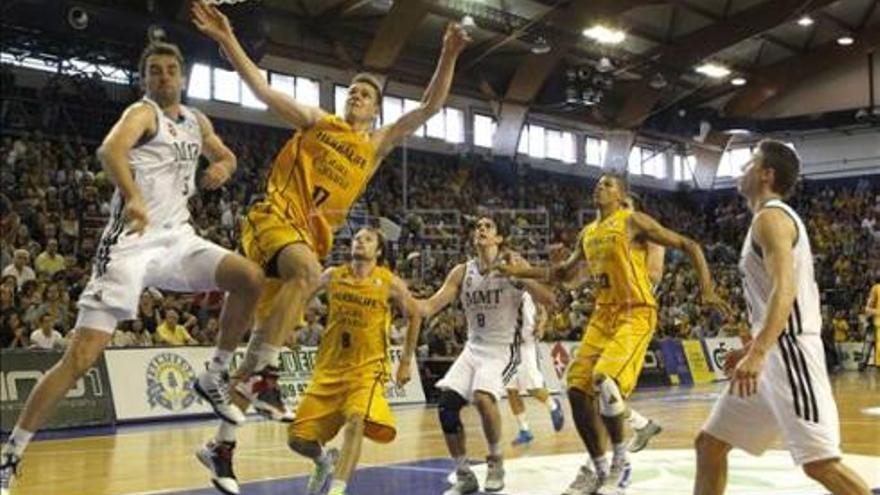 Partido de la Liga ACB entre en Herbalife Gran Canaria y el Real Madrid. EFE